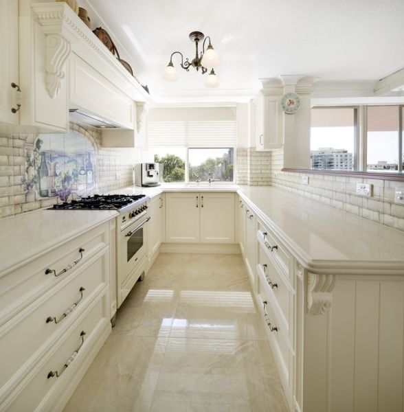 Very similar style to what my new kitchen will look like.  French Provincial, Wonderful Kitchens