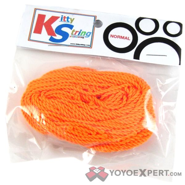 Kitty string, normal 10 pack, orange