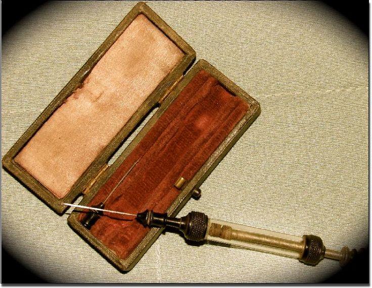 19th century Morphine syringe