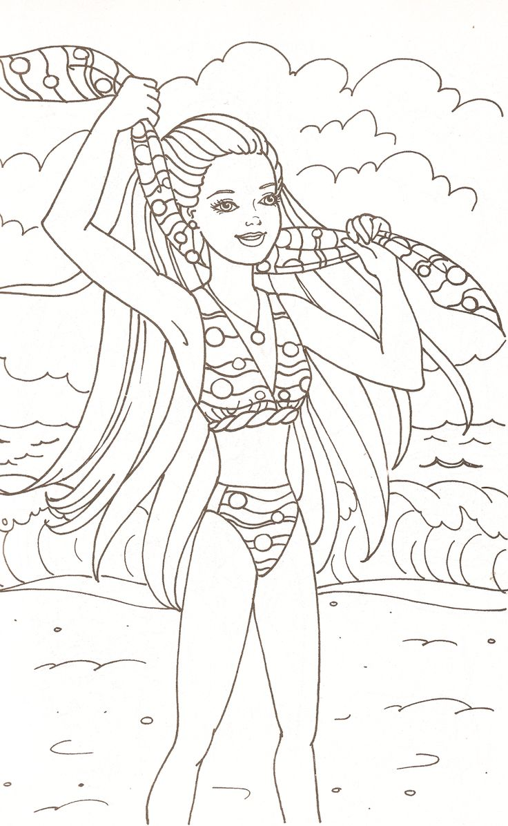 355 best barbie colouring page images on pinterest