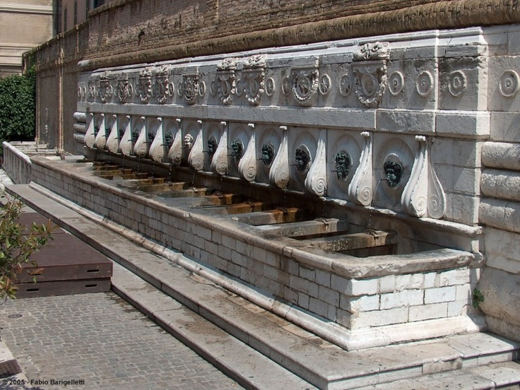 Ancona, fontana del Calamo