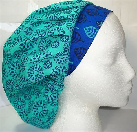 Image result for Bouffant Surgical Scrub Hat Pattern Free