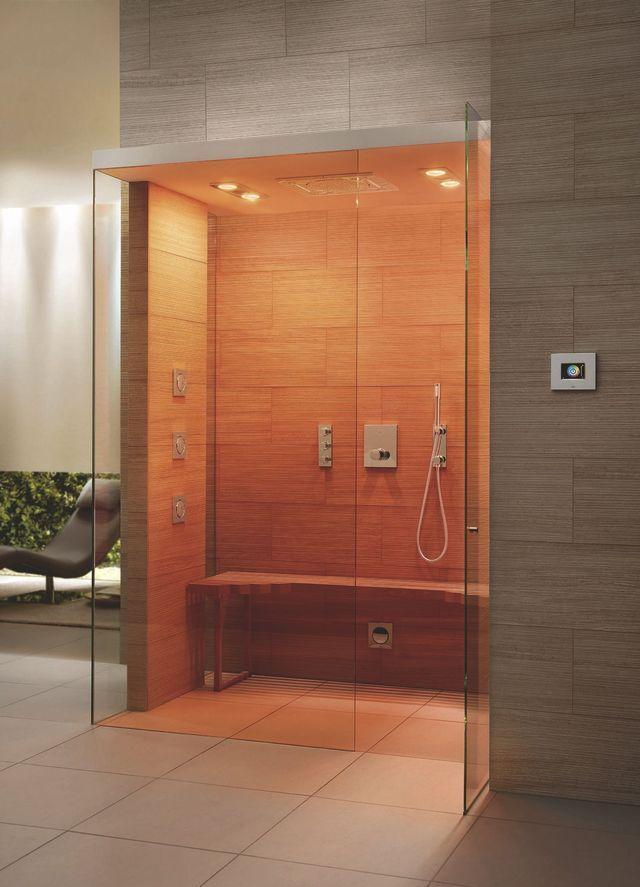 1000 id es sur le th me douches de vapeur sur pinterest saunas sauna et salle de bains. Black Bedroom Furniture Sets. Home Design Ideas