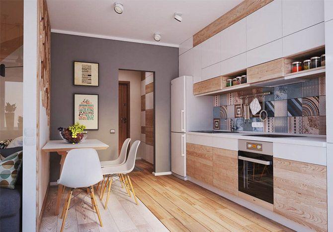 Кухня 8 кв м фото дизайн