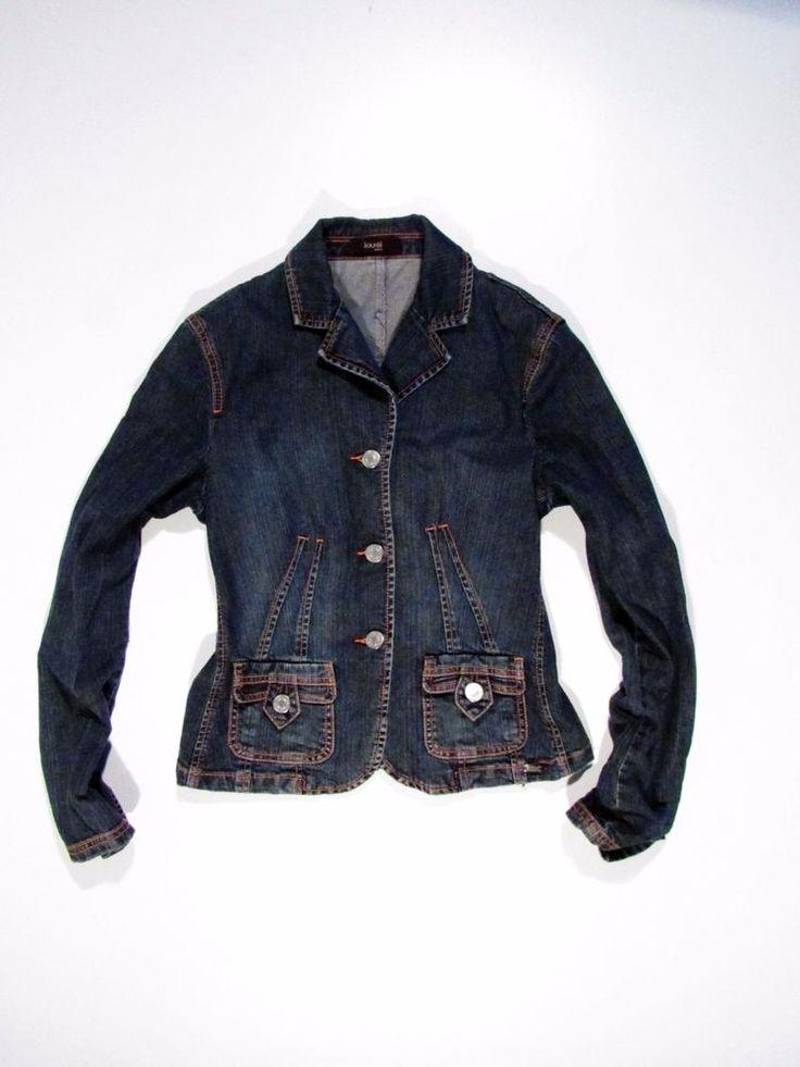 Laurel  sexy jacket denim Italy design