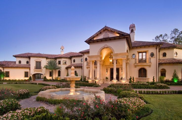 Stunning Mediterranean Mansion In Houston Tx Built By