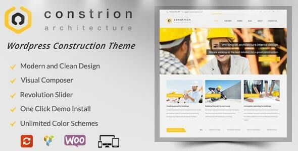 Constrion Construction And Builder Wp Theme Construction Theme