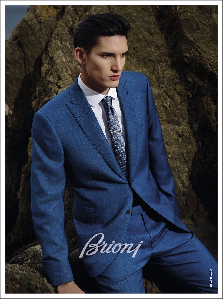 BRIONI Spring/Summer 2015 campaign Dominik Bauer by Collier Schorr