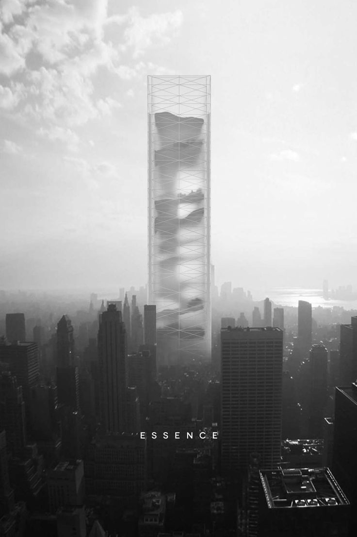 Cloud-bursting Concepts: Presenting the Winners of the 2015 eVolo Skyscraper Competition - Architizer