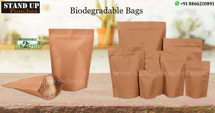 """#StandUpPouches is a leading distributor and manufacturer of this kind of bags. We have started production line """"#Bak2earth"""" or return to the ground."""