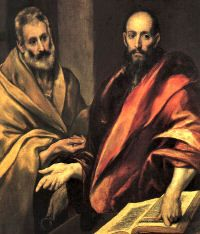 Solemnity of St. Peter and St. Paul.  June 29.  Pray for us and the Diocese of Providence, RI and Diocese of Las Vegas, Nevada.
