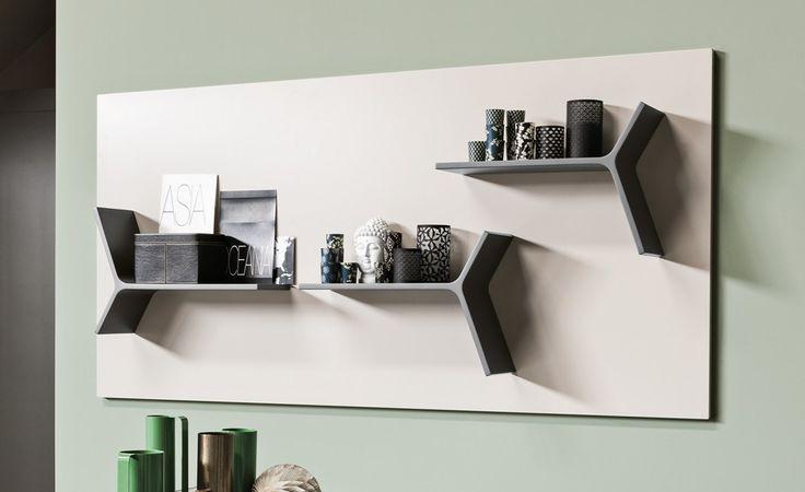 Ensemble mural composable modulable MAGNETIKA SYSTEM by Ronda Design