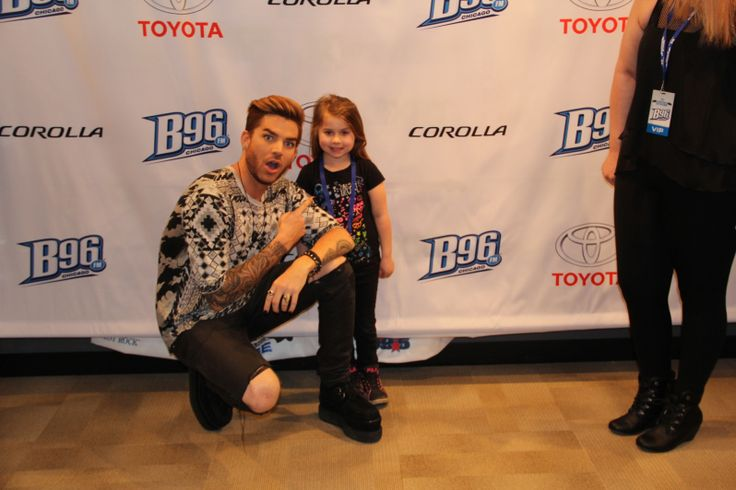 Adam Lambert Live At B96...This man is so good with his fans... of ANY age!!