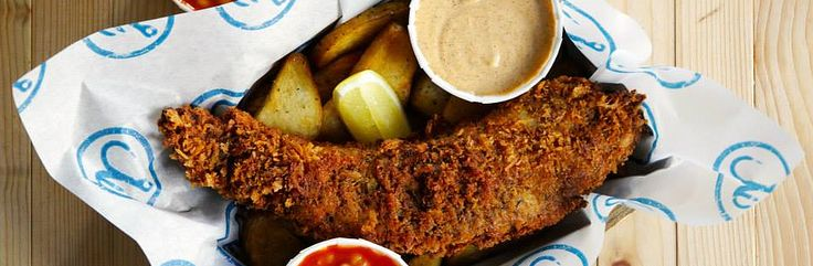 HOOK CAMDEN TOWN RESTAURANTS   FISH & CHIPS