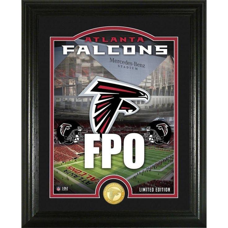 "Atlanta Falcons ""Stadium"" Bronze Coin Photo Mint -"