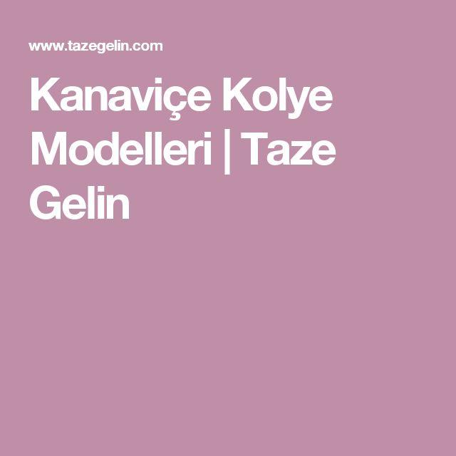 Kanaviçe Kolye Modelleri | Taze Gelin