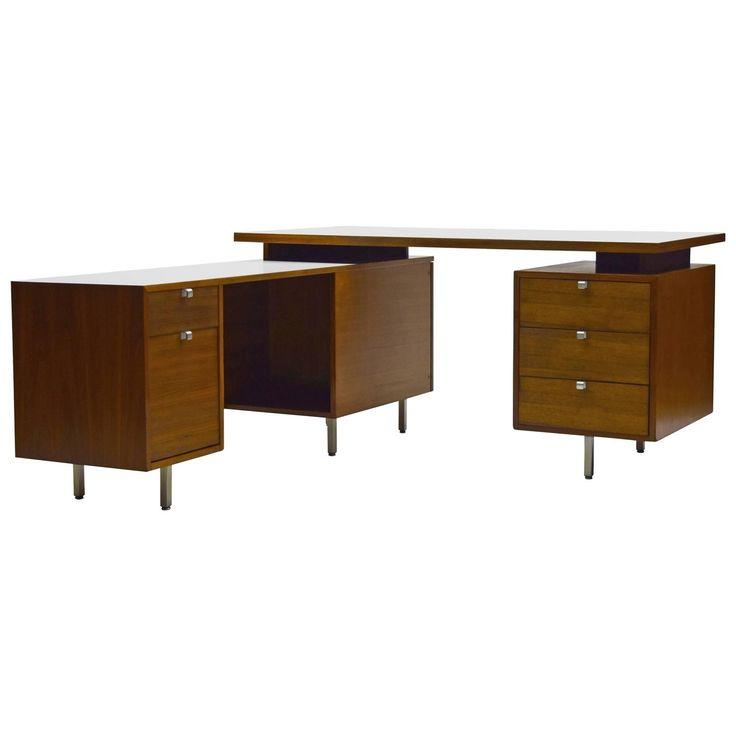 modern furniture pieces. premier custom george nelson executive floating desk by herman miller modern deskmodern furniturefloating furniture pieces c