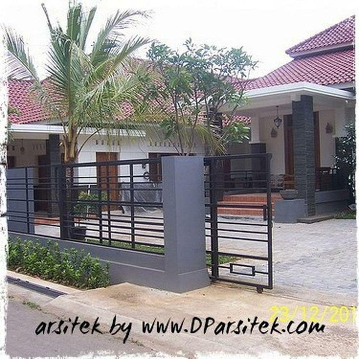renovasi rumah tropis minimalis di Pekalongan #arsitek dan #interior by www.DParsitek.com