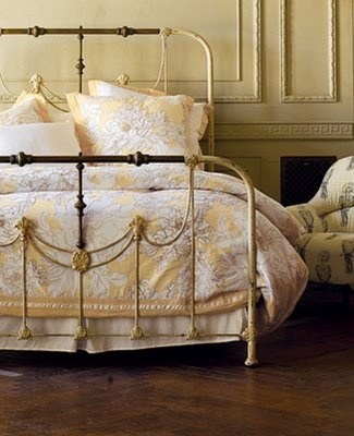 romantic antique bed