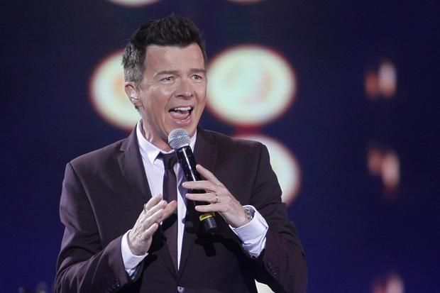 Rick Astley is at number one for the first time in 29 years … he never gave it up