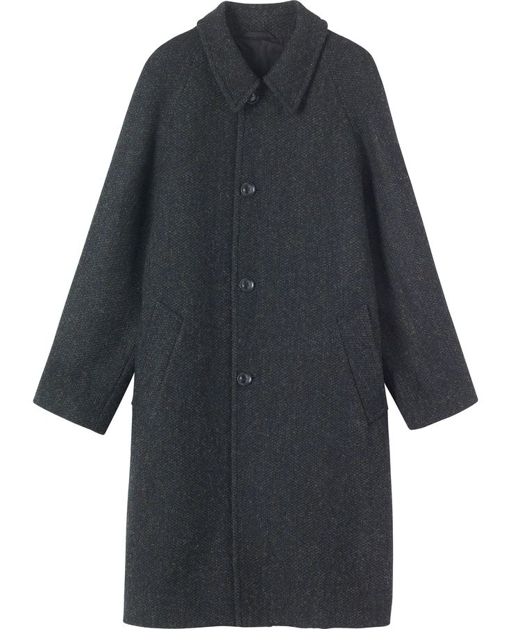 Harris Tweed Raglan Overcoat