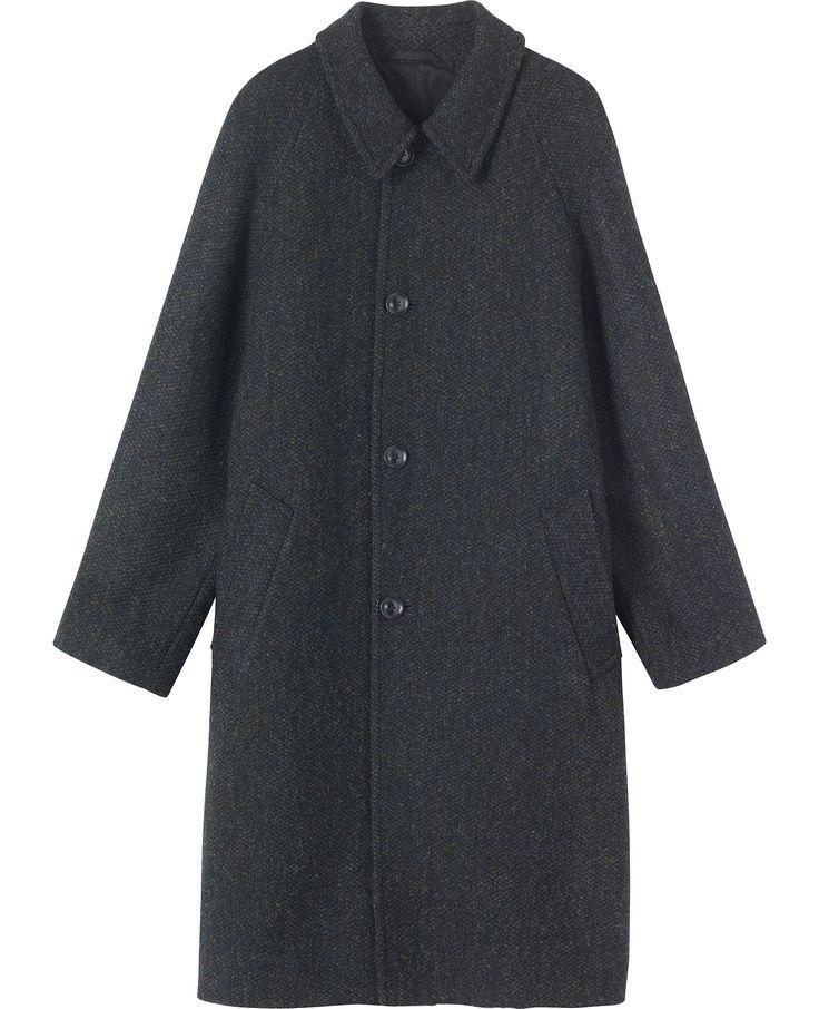 Harris Tweed Raglan Overcoat