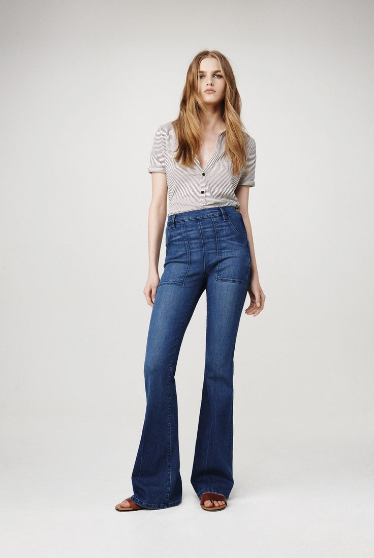 The 70s Called - They want to come back for Fall 15 / Frame Denim