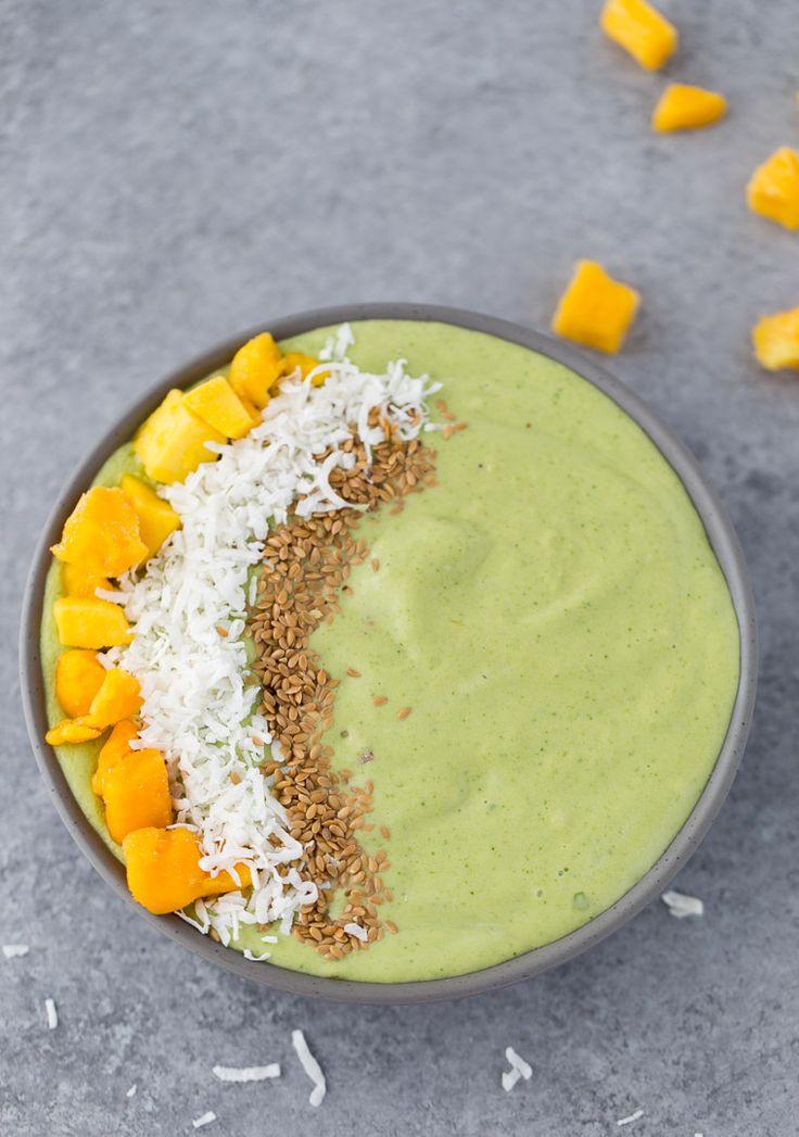 Green Mango Coconut Smoothie Bowl recipe