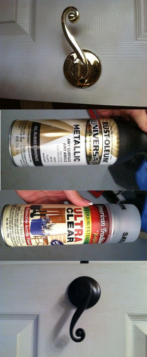 DIY Door Knobs paint will be doing this!!!