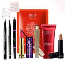 Trucco set 11 pz + eyeliner penna ombretto + rossetto + mascara crescita liquido…