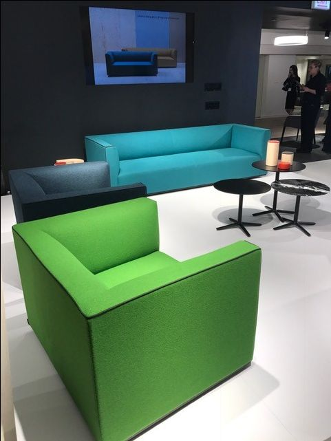 Lounge Chair Bright Furniture Modern NeoCon NeoCon2017 InsideNeoCon