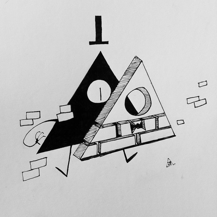 Bill Cipher Bits and Pieces by unknown