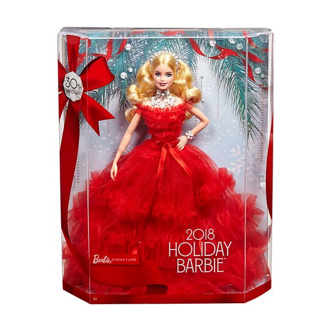 Barbie 2018 Holiday Doll In 2019 Toys Barbie Dolls