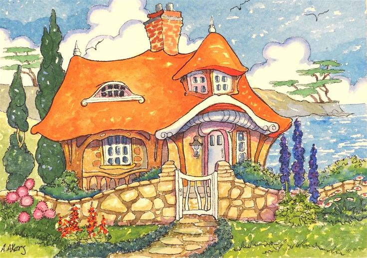 Carmel by the Sea - Inspired Storybook Cottage Series ~ Alida Akers