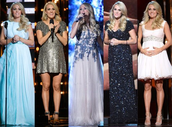 All 10 of Carrie Underwood's Looks from the 2014 CMA Awards?Which One's Your Favorite?