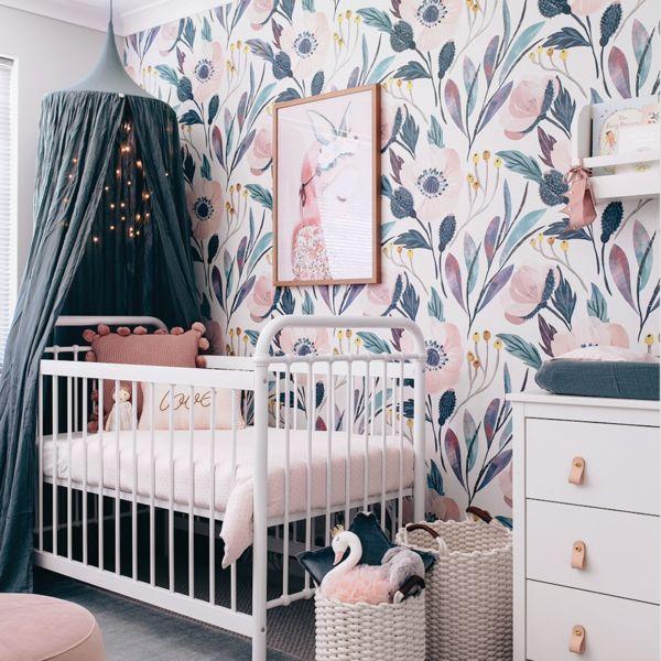 Moody Floral Wallpaper (selbstklebend)