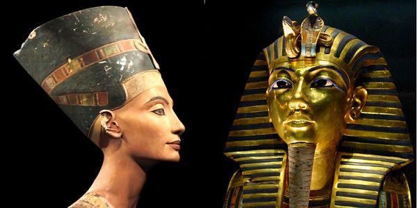 Πλησιάζοντας τη Νεφερτίτη - Πίσω από τον τάφο του Τουταγχαμών υπάρχουν δύο θάλαμοι σύμφωνα με το σκάνερ