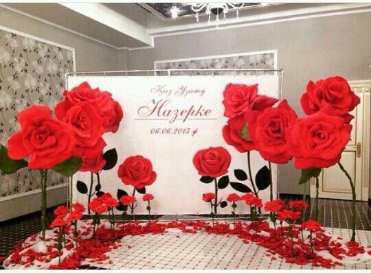 51 best decoraci n para eventos con flores de papel images for Decoracion con plantas