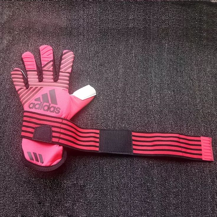 all pink football gloves
