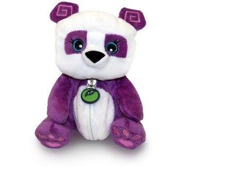 National Geographic's Animal Jam Sidekix Purple & White Panda Plush Animal Toy