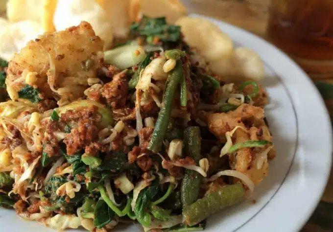 Lotek Khas Sunda Makanan Resep Makanan Sayuran