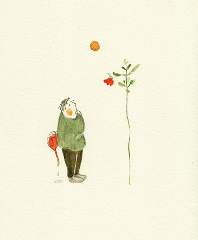 Vicky Alvarez Illustration: unexpected growth - crecimiento inesperado