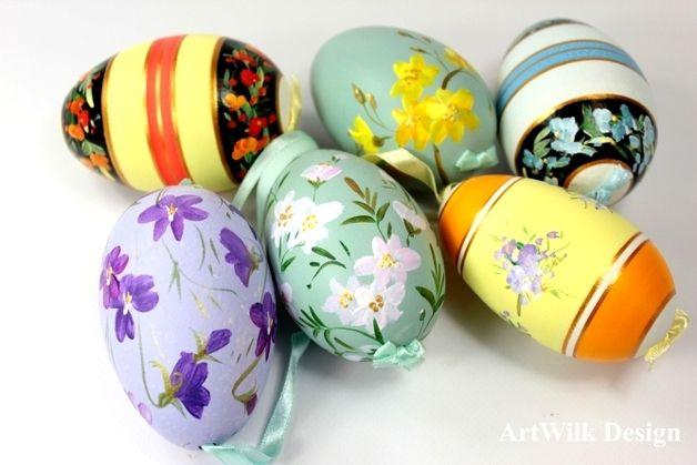 Ostereier - Die handbemalten Ostereier - ein Designerstück von ArtWilk bei DaWanda