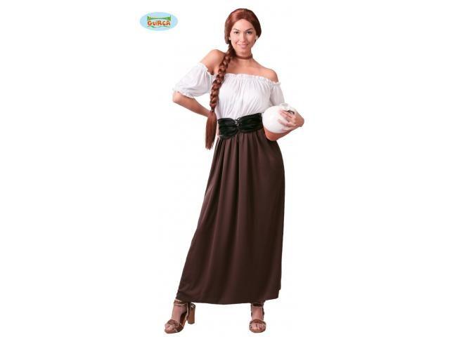 Kostuum van de vrouwelijke herbergier.
