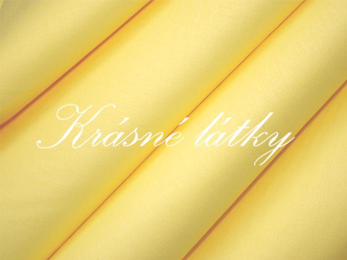 Vanilka,(pudink)Krásné sv žluté plátnoVelmi kvalitní bavl.látka-metráž