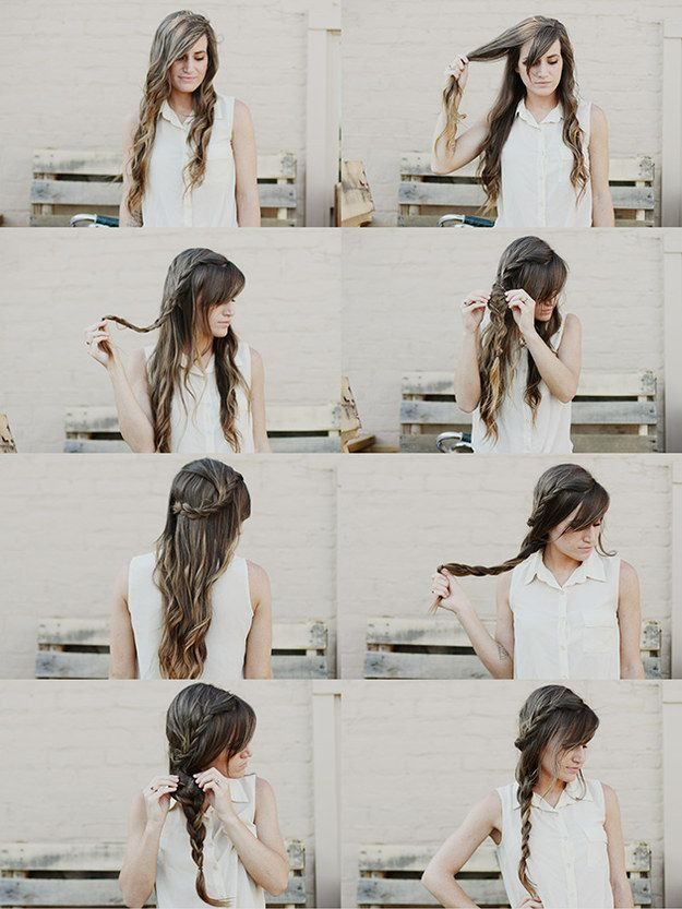 The Weaved-In Carousel Braid | 23 Creative Braid Tutorials That Are Deceptively Easy