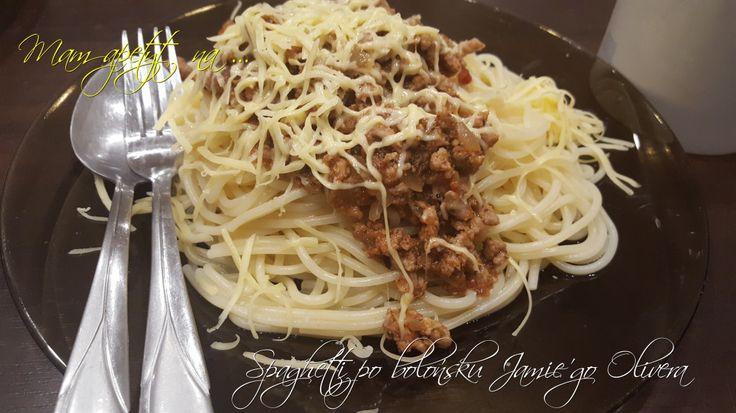 Spaghetti po bolońsku Jamie'go Olivera