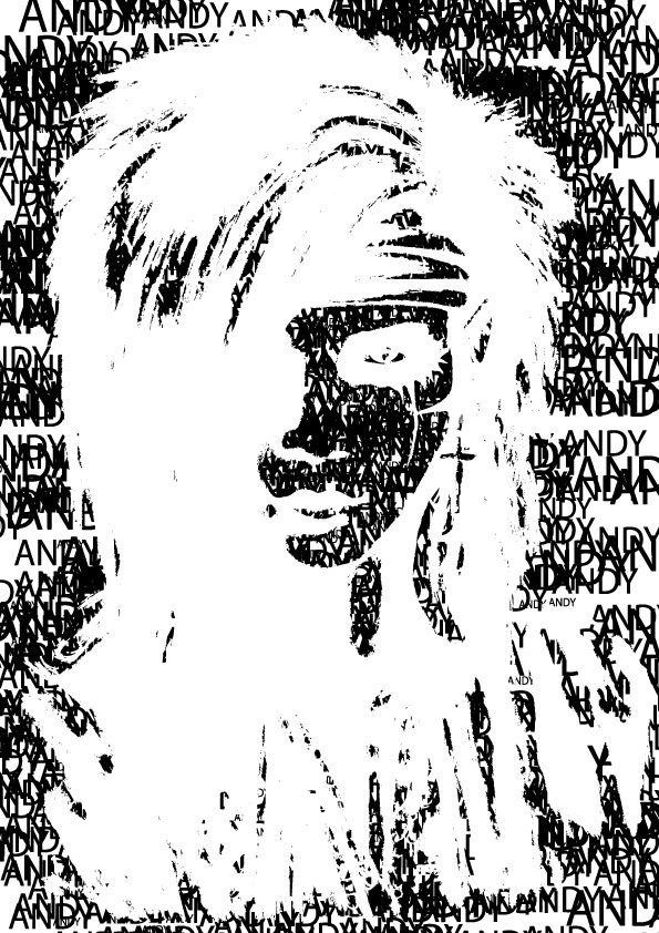 2nd attempt at a type portrait.