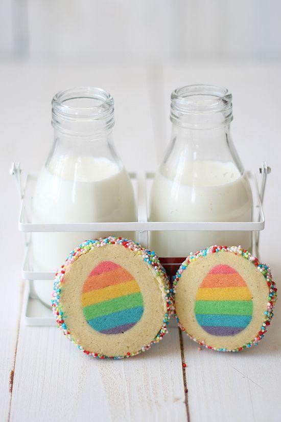 easter surprise inside vanilla cookies