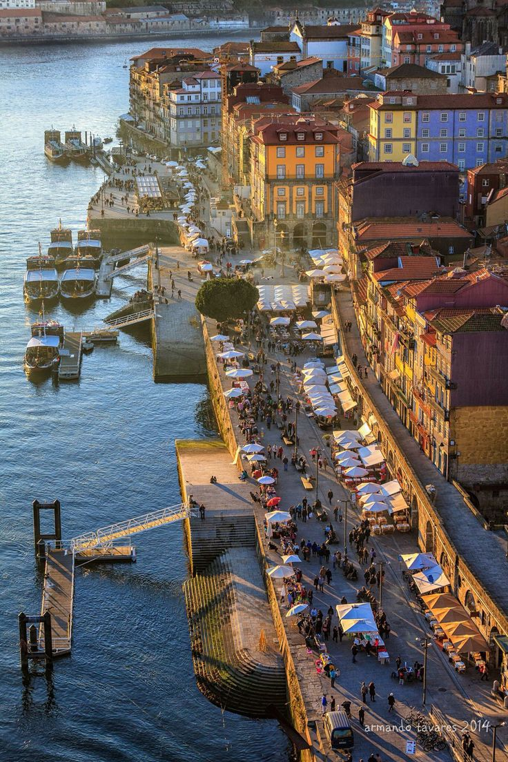 Easy living by the Douro River #Oporto (Porto), Portugal